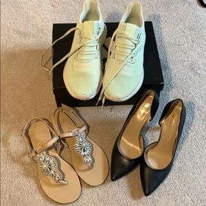 ADIDAS, JESSICA SIMPSON, MOSSMO STAPLE SHOE BUNDLE